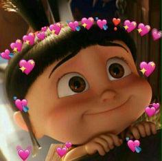 New Memes Apaixonados Wallpaper Ideas Cute Disney Wallpaper, Cute Cartoon Wallpapers, Kpop Wallpapers, Miss You Funny, I Miss You Memes, Sapo Meme, Agnes Despicable Me, Heart Meme, Cute Love Memes