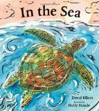The briny deep is home to an enormous variety of fascinating creatures, from the dainty sea horse to the fearsome shark, from the spiny sea urchin to the majestic blue whale. ~ In the Sea - David Elliott, Holly Meade David Elliott, Poetry For Kids, Collection Of Poems, Summer Reading Lists, Ocean Themes, Poetry Books, Children's Literature, Sea Creatures, Under The Sea