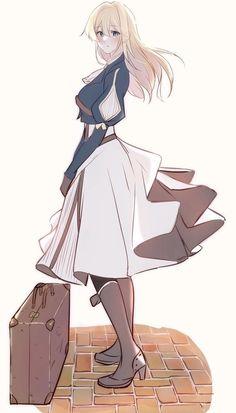 Violet Evergarden Wallpaper, Anime Manga, Anime Art, Violet Evergreen, Violet Evergarden Anime, Doodle Girl, Fnaf, Girls Gallery, Best Waifu