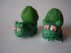 Bulbasaur. Pokemon en Porcelanicron.