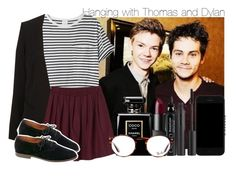 """""""Requested: Hanging with Thomas and Dylan"""" by swaggxdirection ❤ liked on Polyvore featuring Chanel, Givenchy, AR SRPLS, Monki, Madewell, Nudestix, CARGO, NARS Cosmetics and Ray-Ban"""