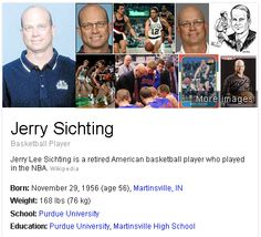 Jerry Sichting begins his first season with the Wizards as an assistant coach. Sichting brings 24 years of experience as an NBA player, coach and talent evaluator to the Wizards' bench, including 11 seasons serving as an assistant both alongside and under Wittman with the Minnesota Timberwolves.