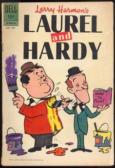 1962 Laurel and Hardy Comic, No. 210