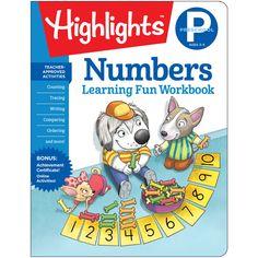 Learning Fun Workbooks Prek Numbrs Highlights