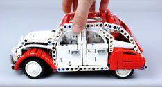 LEGO Technic Citroën 2CV in 1/15 scale [Video]