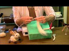 Needle Felting Tutorial - Sarafina Fiber Art Episode 4: Skewer - YouTube