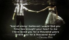 A thousand years...