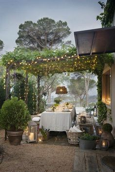 How is your backyard garden lighting going? Good weather is coming sooner than later, so you need to consider what you will do to make your backyard garden merrier. One of the crucial parts of garden design is… Continue Reading → Outdoor Rooms, Outdoor Dining, Outdoor Gardens, Outdoor Decor, Outdoor Bedroom, Modern Gardens, Outdoor Patios, Outdoor Kitchens, Dining Area