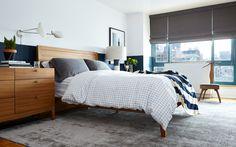 Leather Planter by Sonia Scarr | Photography by Biz Jones Modern & Contemporary Bedroom Design wayfair.com