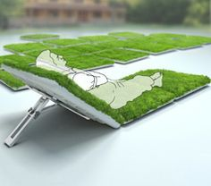 Mobile lawn and Green sod couch wins Red Dot Award
