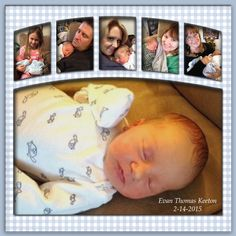 Capricious How To Make A Scrapbook Baby Boy Scrapbook, Baby Scrapbook Pages, 12x12 Scrapbook, Scrapbook Templates, Scrapbook Page Layouts, Scrapbook Designs, Pregnancy Scrapbook, Wedding Scrapbook, Scrapbooking Journal