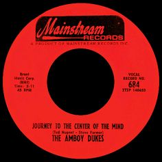 amboy dukes - journey to the center of the mind /// listen to it on http://radioactive.myl2mr.com /// plattenkreisel - circular record shelf, dj booth, atomic cafe, panatomic, records, rod skunk, vinyl, raregroove, crate digging, crate digger, record collection, record collector, record nerd, record store, turntable, vinyl collector, vinyl collection, vinyl community, vinyl junkie, vinyl addict, vinyl freak, vinyl record, cover art, label scan