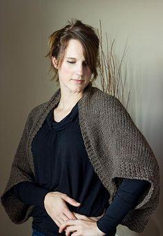 The Author's Friend: Wear as a shrug, a cowl, a shawl, or a scarf!