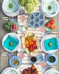 Setting the dreamiest table @MaisonMidi
