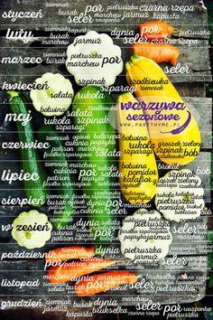 kalendarz warzyw sezonowych #warzywa sezonowe