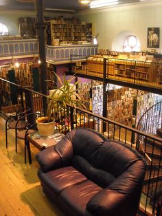 bookstore/cafe in Inverness, Scotland--Always wanted to have a bookstore/cafe.