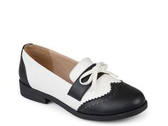 Journee Collection-Gloria Loafer Step into stylish yet versatile design with the Gloria wingtip oxford by Journee Collection. Crazy Shoes, Me Too Shoes, Oxford Shoes Outfit, Sneaker Heels, Sneakers, Clearance Shoes, Loafers For Women, Shoes Women, Trendy Shoes
