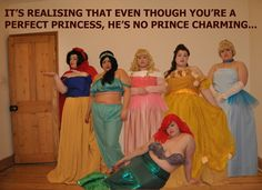 Awesome!!!  Plus Size Disney Princess Cosplay!