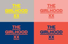The GirlHood project rebrands on its first anniversary Identity Design, Visual Identity, Logo Design, Branding, Handwritten Type, Determination Quotes, Text Layout, Social Media Quotes, Long Time Friends