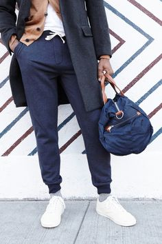 Three stylish New Yorkers show us how they incorporate slim and sharp versions of classic sweats into their daily routine. Read more at j.crew.com/blog.