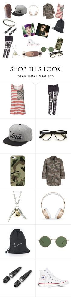 """""""#56"""" by spider-1505 on Polyvore featuring Blonde + Blonde, Vans, CO, Wildfox, Casetify, Quiksilver, Beats by Dr. Dre, NIKE, The Row and Bling Jewelry"""