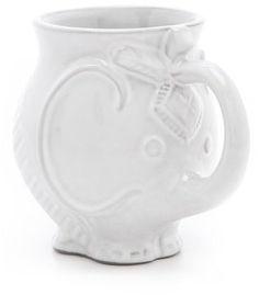 Elephants just always make me happy. Love this mug. : Jonathan Adler Utopia Elephant Mug