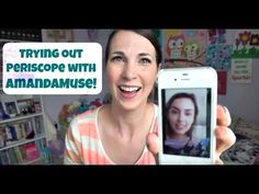 Trying Out Periscope With AmandaMuse | MamaKatTV