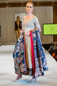 Nida Azwer Kothari Parade Bridal Dress Collection 2014 14 ZebAyesha Summer Collection 2014 For Women