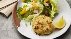 Crab Cake | Get healthy, easy, and tasty diabetic dinner recipes that will keep you full without spiking your sugar levels.