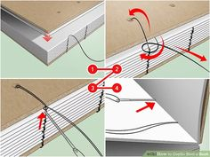 How to Coptic Bind a Book (with Pictures) - wikiHow Handmade Notebook, Handmade Journals, Handmade Bags, Handmade Bracelets, Leather Bound Books, Leather Book Binding, Homemade Books, Bookbinding Tutorial, Stitch Book
