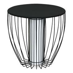 Bout de canapé lumineux en acier Noir - Kama - Les tables basses - Tables basses et consoles - Tous les meubles - Décoration d'intérieur - Alinéa
