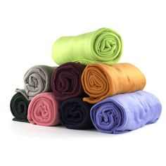 You'll love the 24 Piece Ultra Soft Fleece Throw Blanket Set at Wayfair - Great Deals on all Bed & Bath products with Free Shipping on most stuff, even the big stuff.