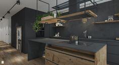 Kuchnia styl Industrialny - zdjęcie od UNIQUE INTERIOR DESIGN - Kuchnia - Styl Industrialny - UNIQUE INTERIOR DESIGN
