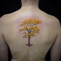 tatuagem-de-arvore-ipe