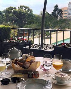 Bom dia Lisboa!  Café da manhã de princesa no @fslisbon  #yummy #breakfasttime #niaroundtheworld #portugal