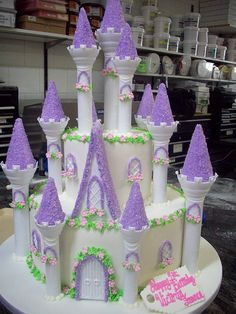 Princess Castle Cake  by tineypics, via Flickr