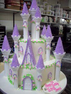Princess Castle Cake  by tineypics, via Flickr