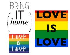 """Bring It Home: Love Is Love Magnet"" by polyvore-editorial ❤ liked on Polyvore featuring interior, interiors, interior design, home, home decor, interior decorating and bringithome"