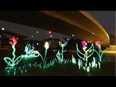 LICHTFAKTOR - dENiZEN - Light Painting Video - Ampelmann
