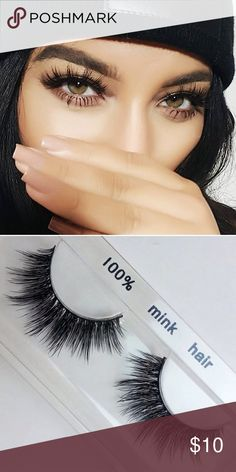 3D mink eyelashes •Brand new mink lashes (no brand) •100% real mink.                  •2 pairs for $25                                                                 •3 pairs for $30 THESE SELL FAST SO GRAB WHILE YOU CAN MAC Cosmetics Makeup False Eyelashes