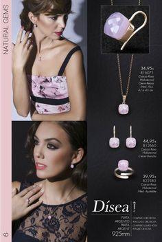 Girocollo con quarzo rosa, idea per spose(cod.816071)