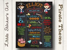 Hey, I found this really awesome Etsy listing at http://www.etsy.com/listing/171820043/first-birthday-boys-chalkboard-pirate