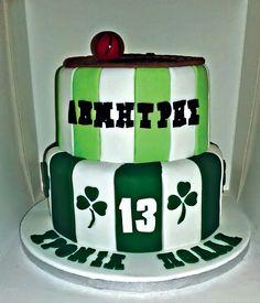 Panathinaikos cake