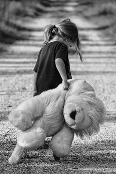 black-and-white, child, cute