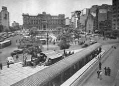 Clovis Bevilacqua Square circa 1950 - Sao Paulo, Brazil