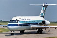 British Midland Airways - BMA Douglas DC-9-14 G-BMAI, circa 1980s.