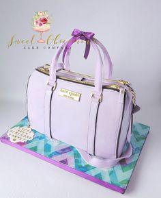 Kate Spade Purse Cake Wttc Runner Up Handbag Cakes Co