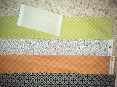 The Little Fabric Blog: Halloween Chevron Quilt Tutorial