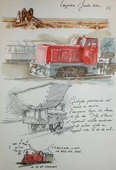 Memory Journal, Illustrations, Sketchers, Blog, Watercolor, Drawings, Contours, Journaling, Aviation