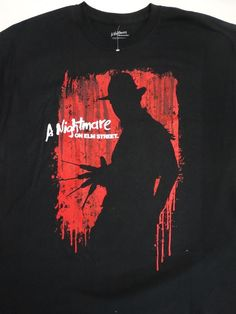 Freddy Krueger A Nightmare On Elm Street Movie T-Shirt #FreddyKrueger…